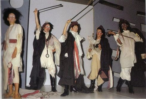 1984  John Galliano graduated show from St Martin