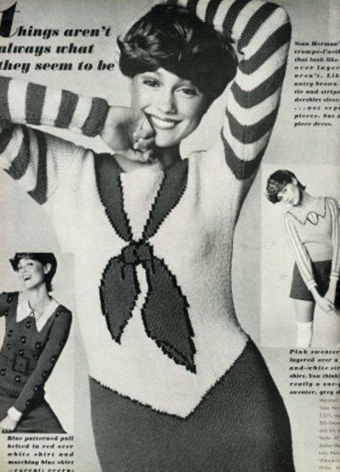 1970strompeloeilknitwear~1970-s-Trompeloeil-Knitwear-Posters