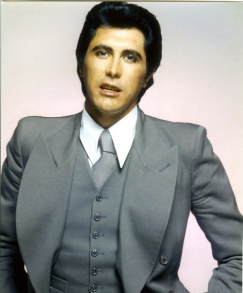 Brian Ferry wearing Antony Price design
