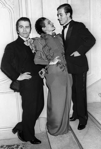 Karl Lagerfeld, Paloma & husband