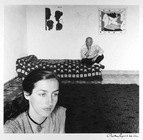 Picasso i Francoise Gilot, ph Robert Doisneau