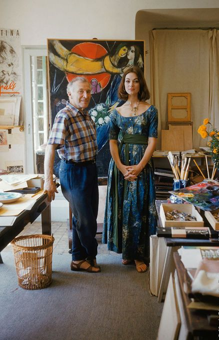 Mark Shaw Marc Chagall in Studio, 1955 2