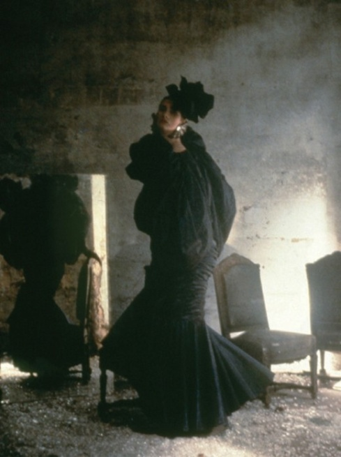 Ungaro, Vogue, 1984, by Deborah Turbeville