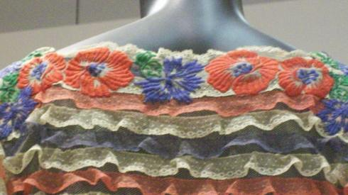 detail Chanel dress