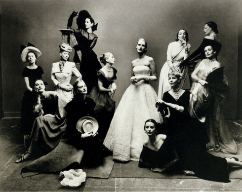12 beauties by Irving Penn