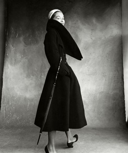 Dior, photographed by Irving Penn for Vogue in 1950