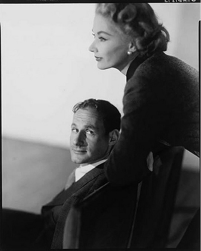 Irving Penn with his wife, model Lisa Fonssagrives, 1951