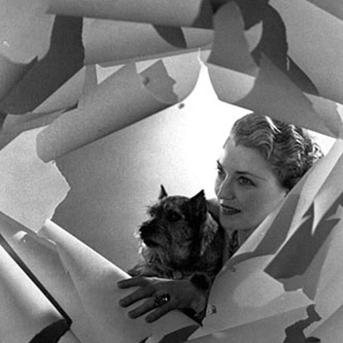 Mona von Bismarck. Photo by Cecil Beaton. Vogue, October 1, 1936.