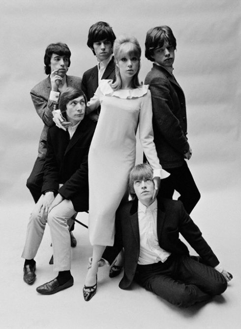 Marianne with the stones