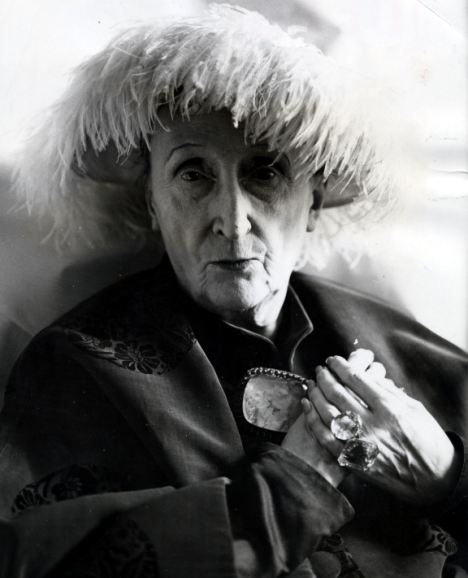 Cecil Beaton, Portrait of Edith Sitwell,1960'sv