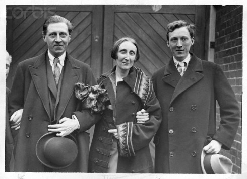Osbert and Edith Sitwell