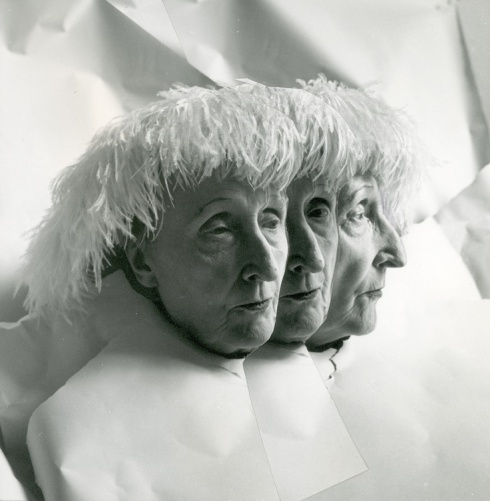 Edith Sitwell multiple exposure, Cecil Beaton, 1962