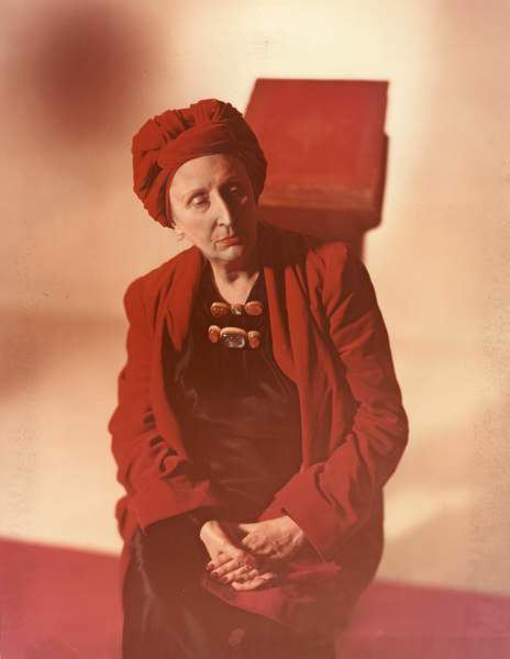 Horst P. Horst, Portrait of Edith Sitwell,1948