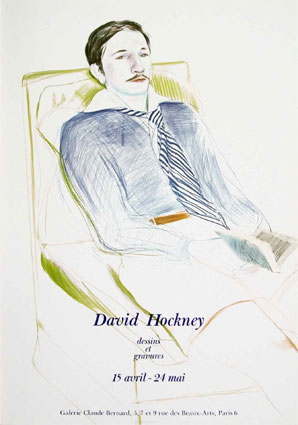 jacques de bascher by david hockney