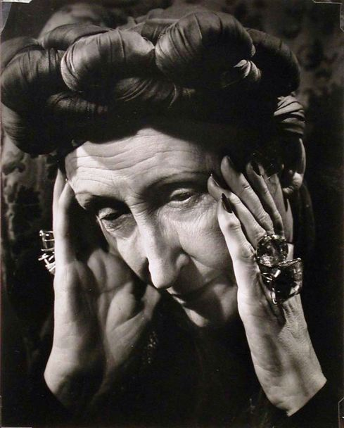 Philippe Halsman, Portrait of Edith Sitwell, 1937