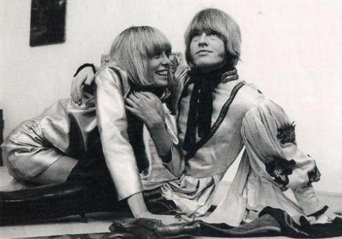 Anita Pallenberg & Brian Jones