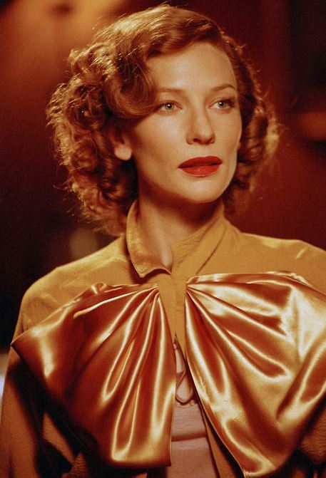 Cate Blanchett as Katharine Hepburn, The Aviator 2004