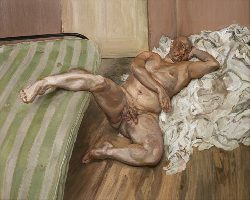 Leigh Bowery by Lucian Freud