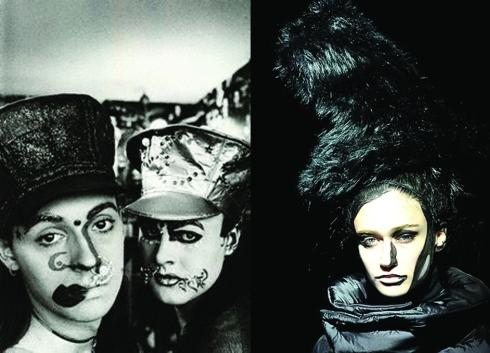 Trojan& Leigh Bowery - Junya watanabe