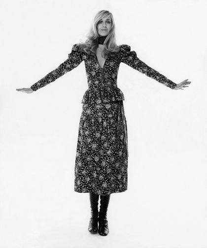Betty Catroux wearing Yves saint Laurent