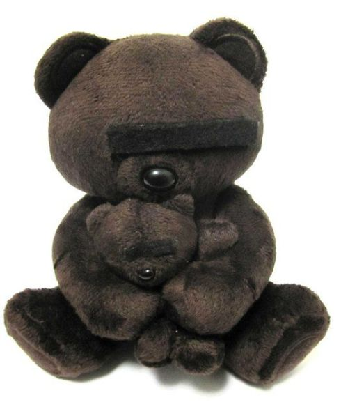 Undercover Bear Plush Toy by Jun Takahashi