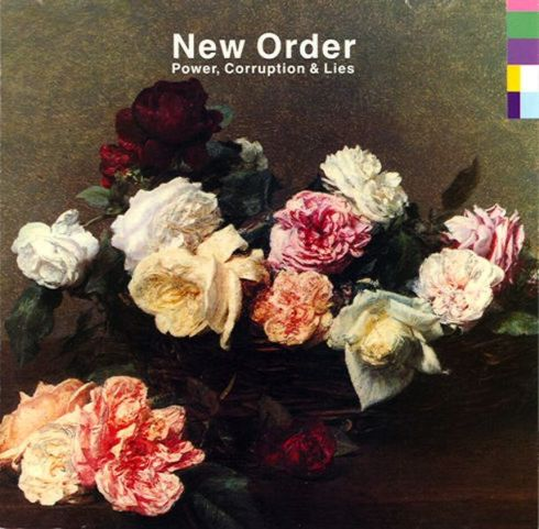 New Order record sleeve