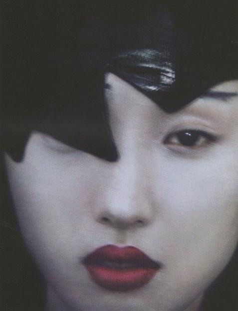 Comme des garçons , 10 magazine by Sarah Moon