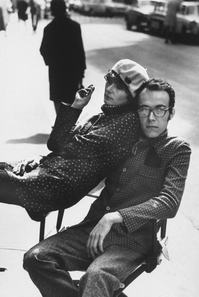 Marielle Hadengue, with boyfriend, Francois Fould. Bill
