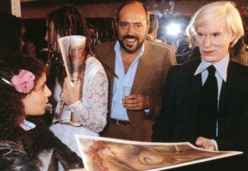Elio Fiorucci & Andy Warhol
