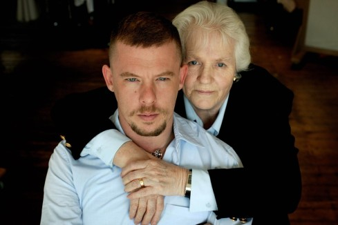 Alexander McQueen & Mum