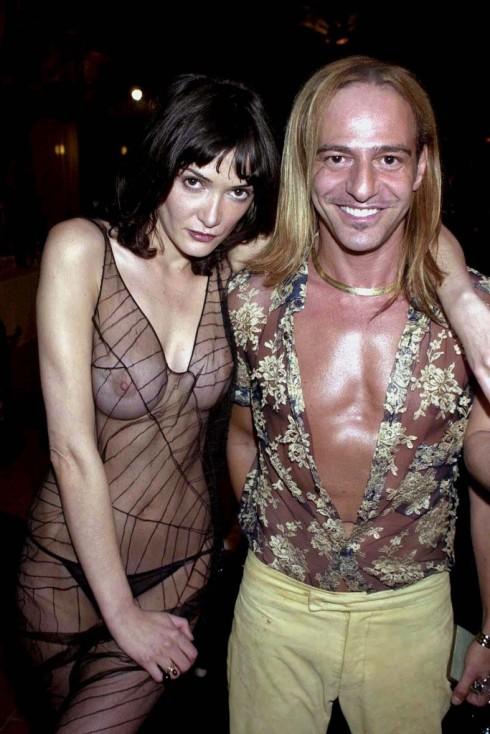 John Galliano & Annabelle  Neilson