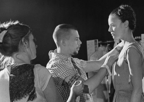 Alexander McQueen behind the scenes