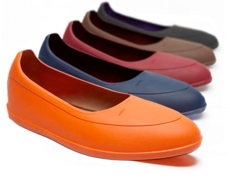coloured galoshes