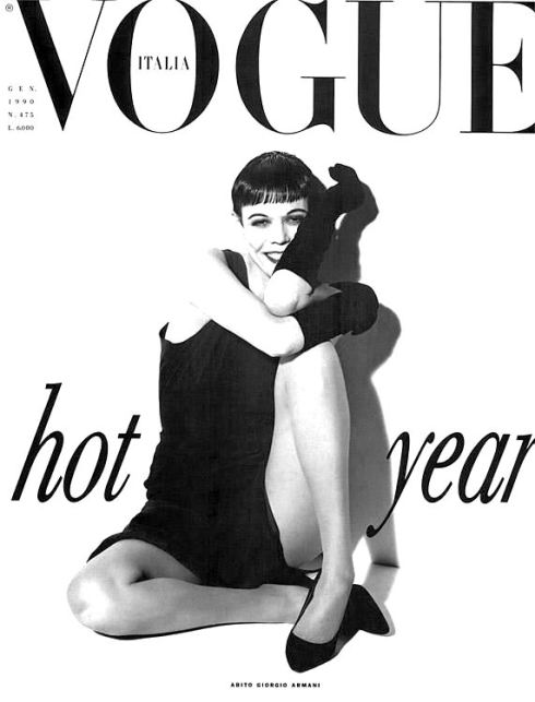 Wallis Franken Vogue cover