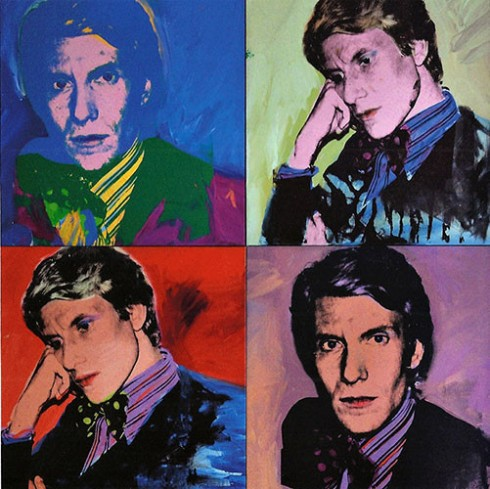 Yves Saint Laurent & Andy Warhol