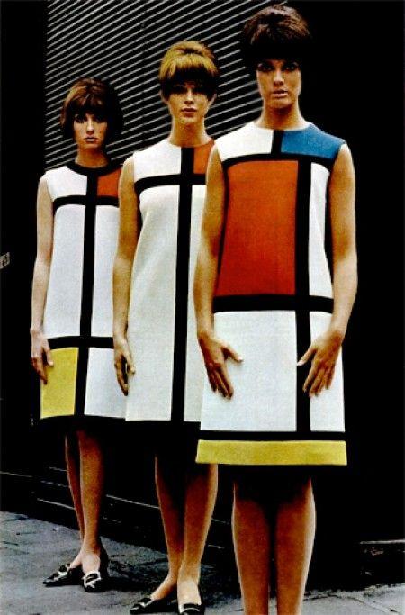 Yves Saint Laurent & Piet Mondriaan