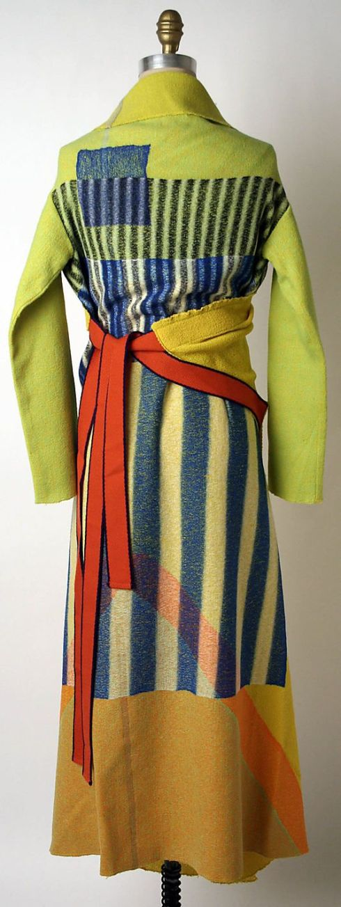 Issey Miyake FW 1997 Met Collection. To me, this collection is reminiscent of Sonia Delaunay.