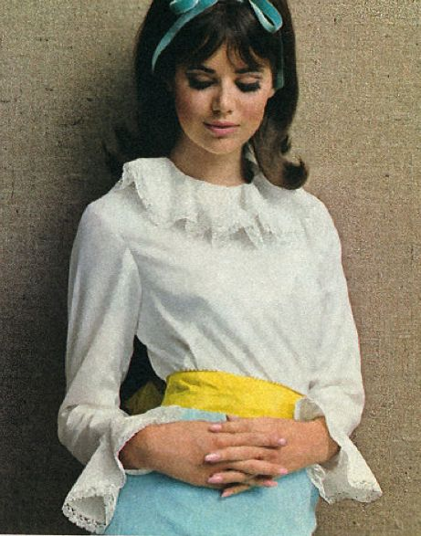 Colleen Corby in Seventeen Magazine 1965