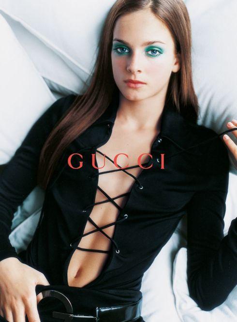 Gucci 1996 ad by Mario Testino