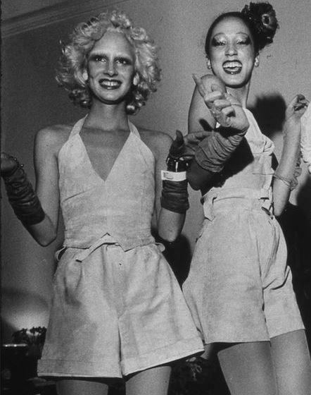 Donna Jordan & Pat Cleveland