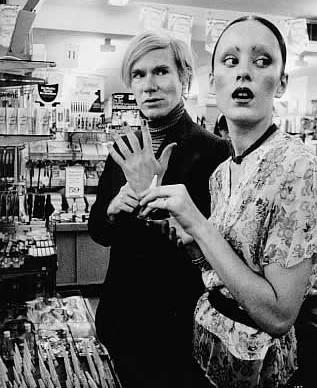 Jane Forth & Andy Warhol