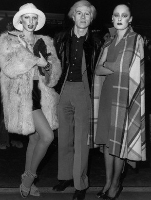 Donna Jordan, Andy Warhol & Jane Forth promoting the 1971 film, L'Amour