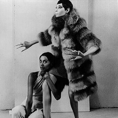 Donyale Luna & her Rootstein mannequin
