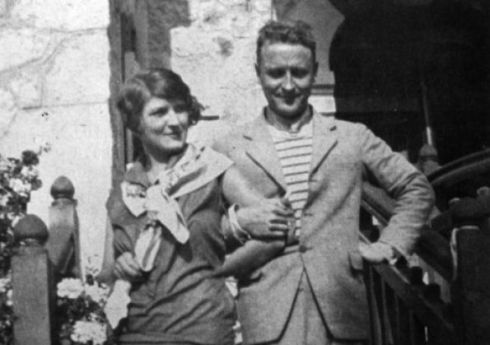 Zelda and Francis Scott Fitzgerald in 1926