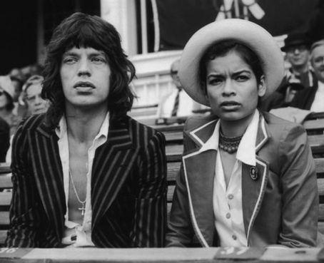 Bianca & Mick Jagger