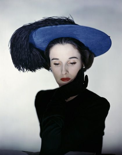 "Erwin Blumenfeld, Portrait of Barbara ""Babe"" Paley, 1947"