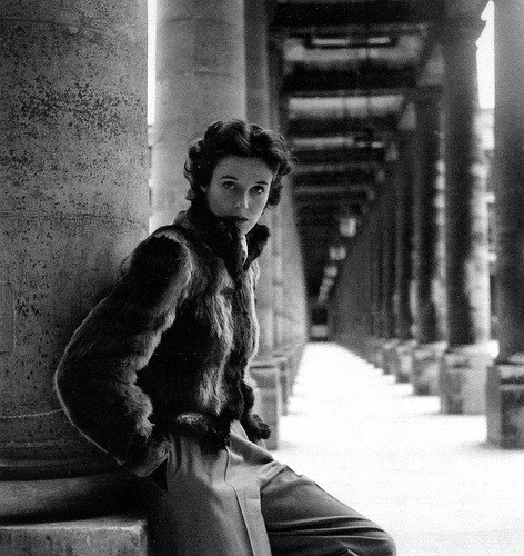 Babe Paley shot by Clifford Coffin for British Vogue December 1946
