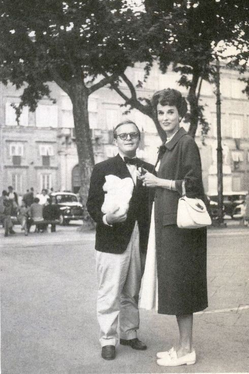 Babe Paley & Truman Capote