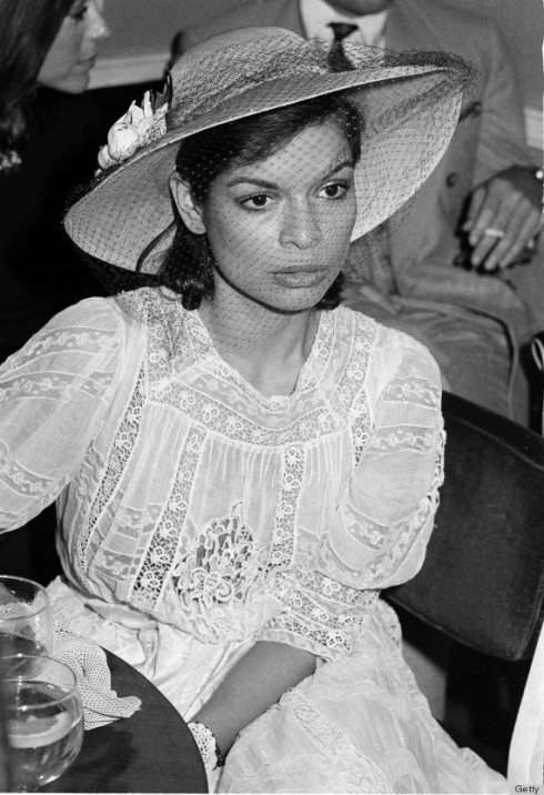 Bianca Jagger At A Party