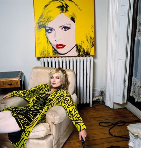 Debbie harry in Stephen Sprouse, 1988